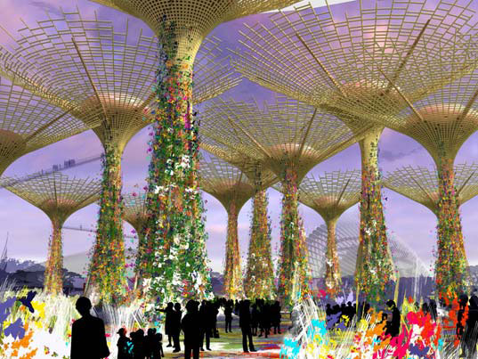 Supertree Garden by the Bay Singapore