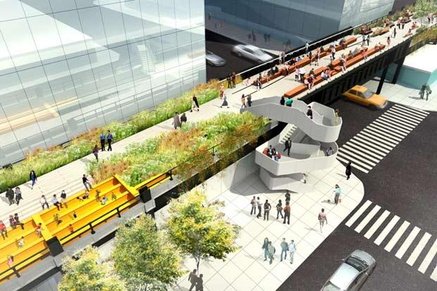 Passeggiando nella high line di new york rinnovabili for Sistemazione new york