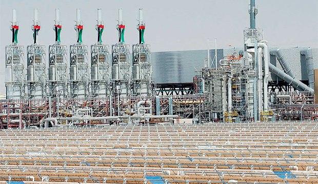 Ad Abu Dabhi il solare termodinamico dei record (Foto di Reuters)