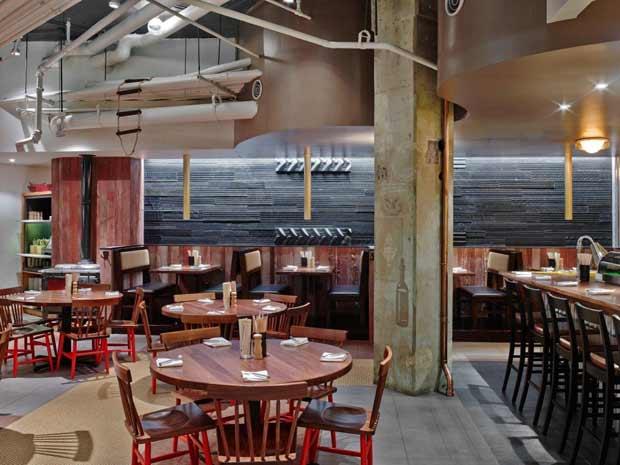 Il ristorante eco friendly costruito con materiali riciclati