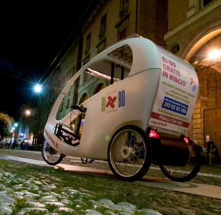 Bi-Bo: un risciò ecologico e sociale per le strade bolognesi