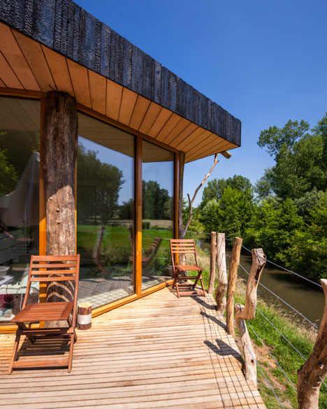 Casa passiva: manutenzione addio grazie ai pannelli di legno bruciato