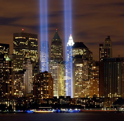 Tribute in Light - 11 settembre WTC
