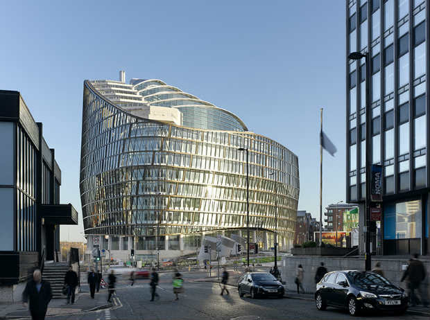 8 One Angel Square - © Daniel Hopkinson