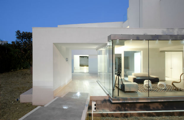 L 39 architettura passiva mediterranea vince ai casaclima for Foto di case mediterranee