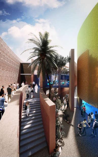Expo Milano Stand Emirati Arabi : Il padiglione degli emirati arabi per expo
