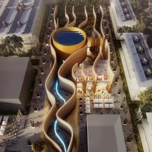 Il padiglione degli Emirati Arabi per Expo 2015