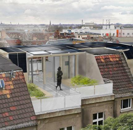 5Rooftop House dai Solar Decathlon un prototipo per i tetti di Berlino