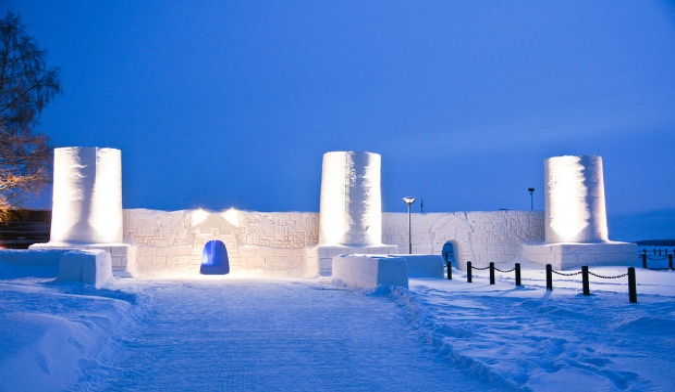 FINLANDIA - The Snow Castle – Kemi Finlandia