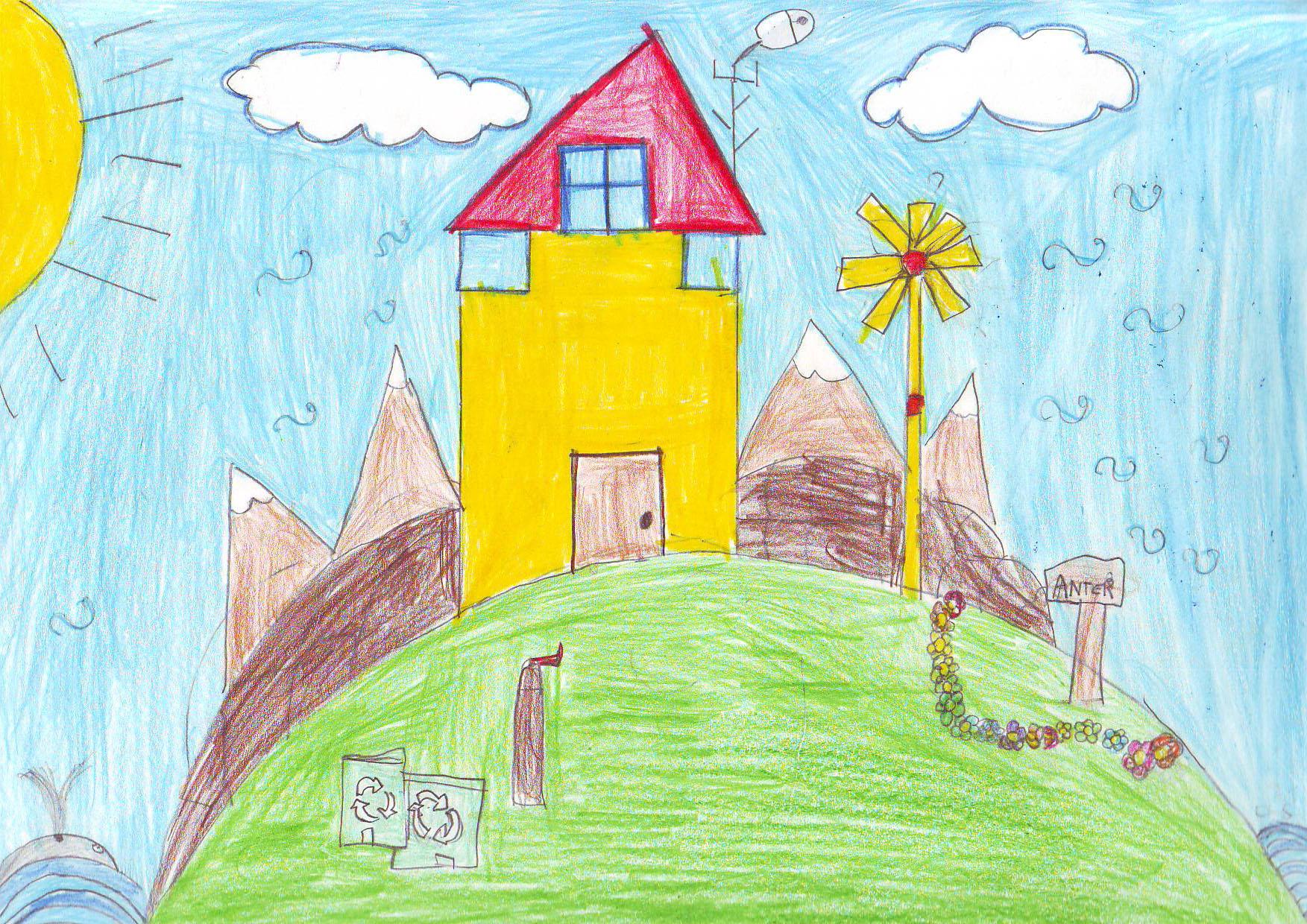 Il sole in classe nel progetto scuola dell 39 expo 2015 for Casa disegno
