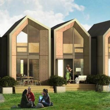 La mini casa prefabbricata in legno da spostare dove vuoi - Casa in legno economica ...