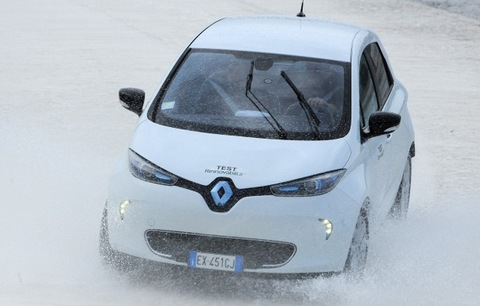 Renault Zoe Test Rinnovabili.it