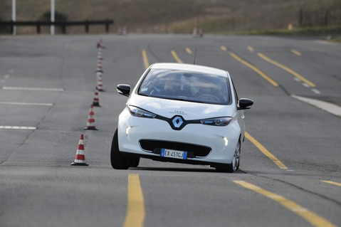 Rinnovabili.it Test Renault Zoe