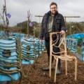 Design ecofriendly: alberi che si trasformano in sedie