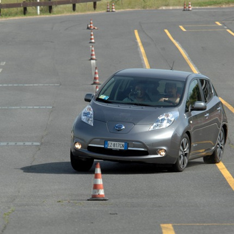 Nissan Leaf Test Rinnovabili.it - CNR ITAE