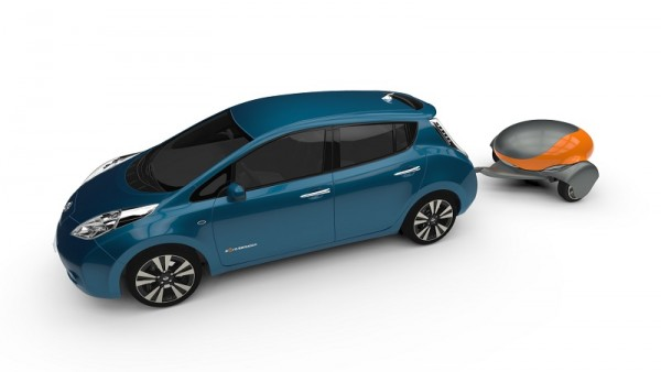 Auto elettrica, con MobileBattery la ricarica te la porti dietro