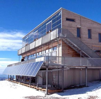 ecorifugi: schiestlhaus, la prima casa passiva in alta quota