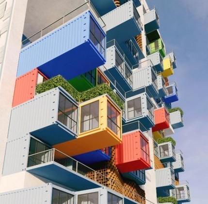 Architettura con i container, 10 esempi di riciclo green