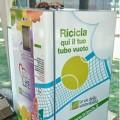 Tritech Tennis, quando il tubo si ricicla