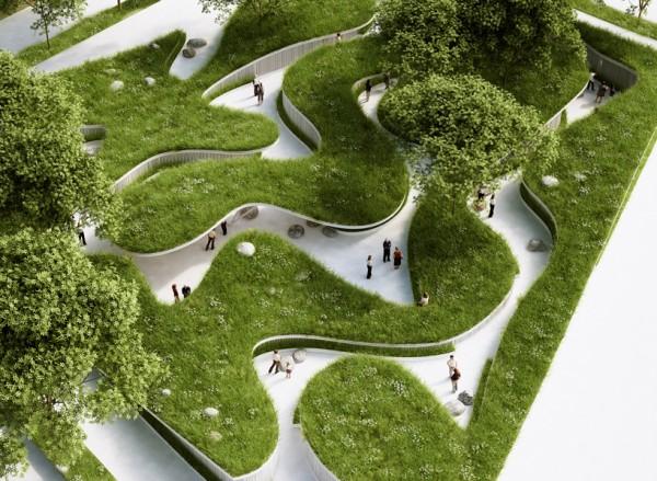 Un giardino pensile da piantare ci ricorda l'importanza delle riserve d'acqua