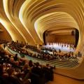 Legno MDF, Zaha Hadid firma un auditorium da sogno a Baku
