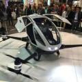Al CES il primo drone elettrico che trasporta persone 6