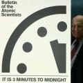 Doomsday clock 3 minuti ci separano dalla fine del mondo 4