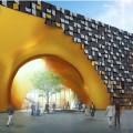 Greenbuilding, quando la facciata modulare protegge l'arte
