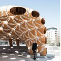 Biomimesi, il padiglione copia i ricci di mare