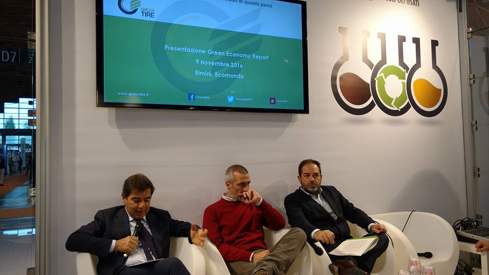 PFU: Greentire presenta il primo Green Economy Report