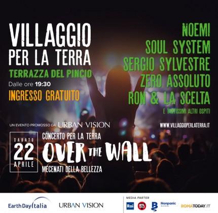 Concerto contro tutti i muri, giornata mondiale della terra