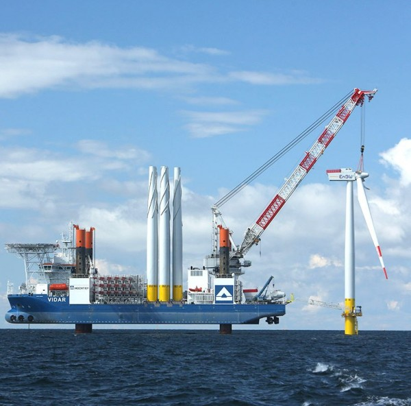 Eolico offshore senza incentivi per la prima asta della Germania
