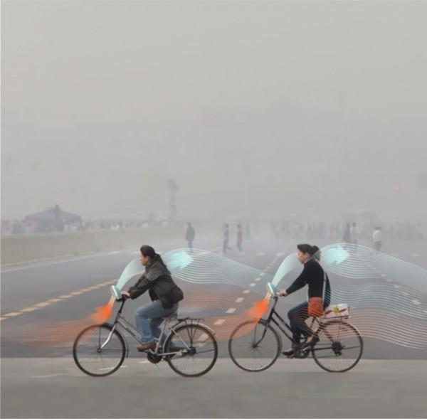 Roosegaarde disegna la bici anti-smog