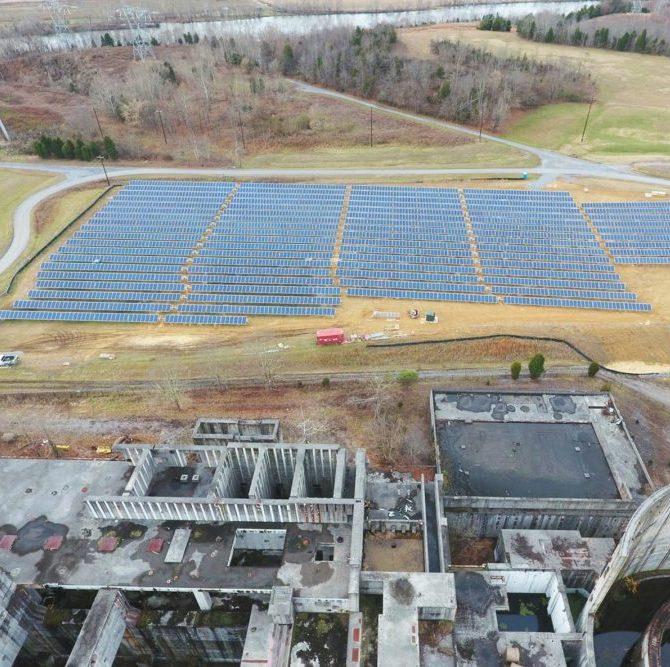 centrale nucleare abbandonata