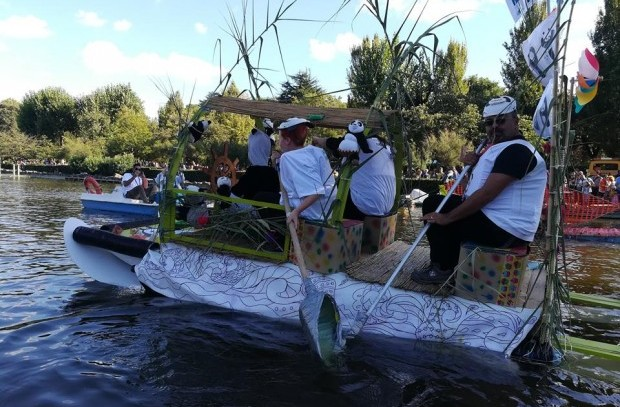 Re Boat Roma Race, vince il riciclo creativo