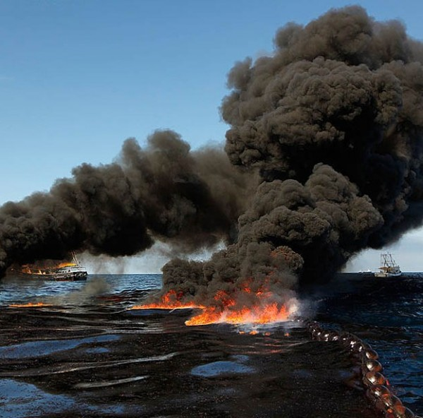 2010 Deep Horizon oil spill disaster in the Gulf of Mexico