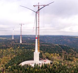 La turbina eolica più alta al mondo sarà integrata all'idroelettrico