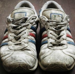 Riciclare le scarpe da ginnastica