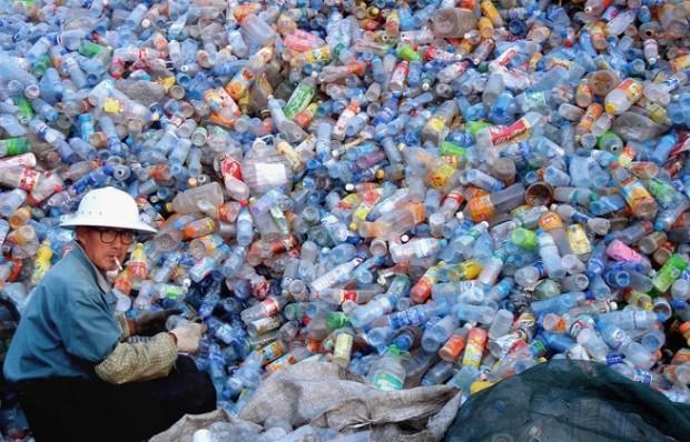 Produzione di plastica