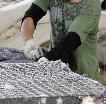 riciclare il materasso