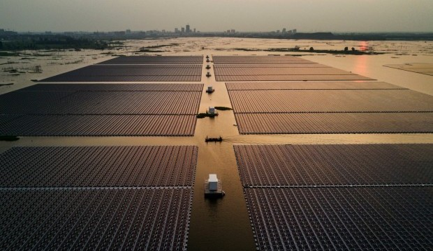 'impianto fotovoltaico galleggiante