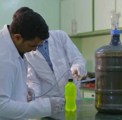 Un micro impianto domestico per produrre biogas da rifiuti