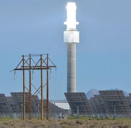 Aurora, l'impianto termodinamico a torre solare più potente al mondo