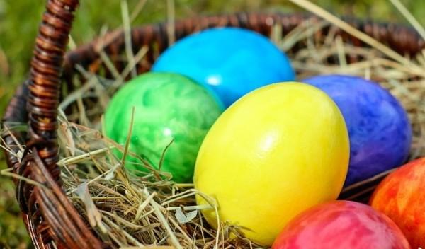 Uova di Pasqua ecologiche
