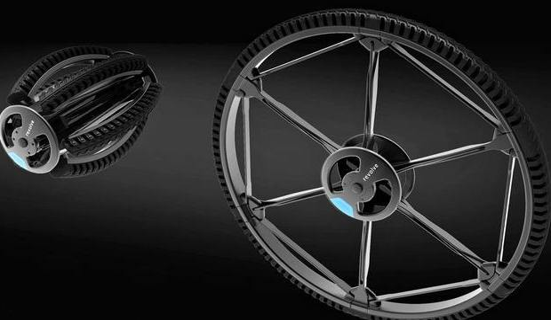 Bicicletta Pieghevole Pininfarina 26.Una Ruota Pieghevole Per La Bici Che Si Mette In Borsa