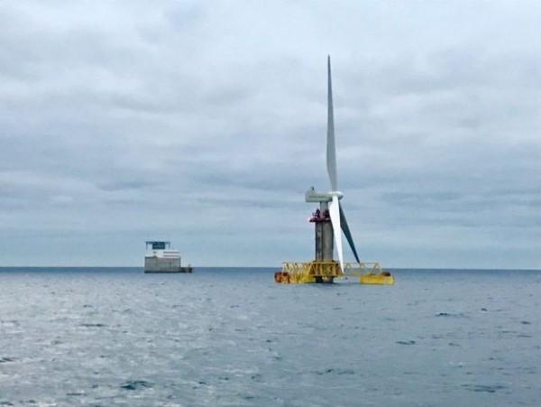 turbina eolica offshore telescopica