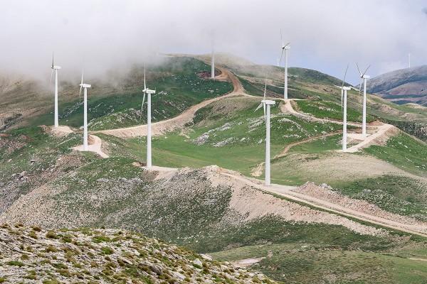 asta eolica della Grecia