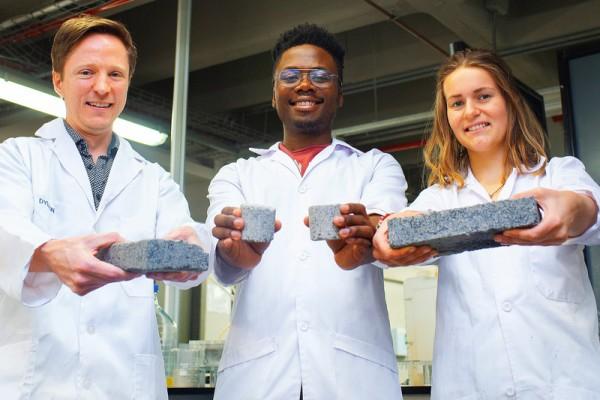 biomateriali mattoni urina