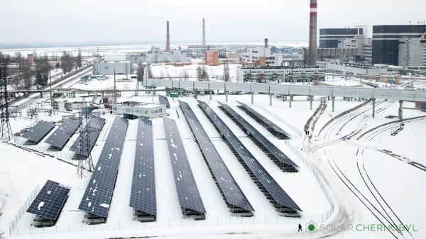 centrale solare di Černobyl'
