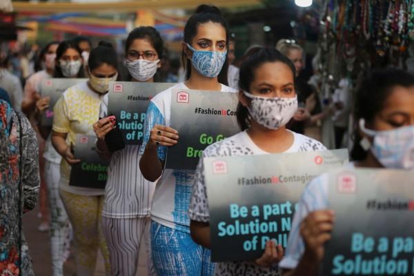 nuova delhi smog